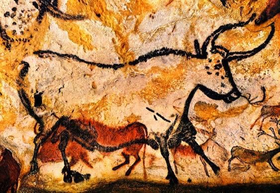 Desenhos em cavernas