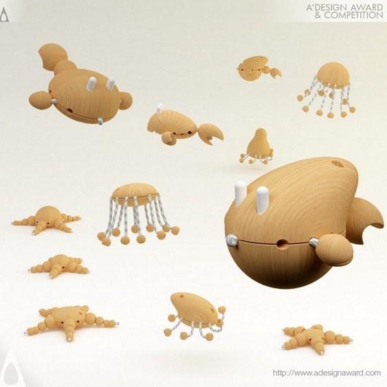 Brinquedos de madeira