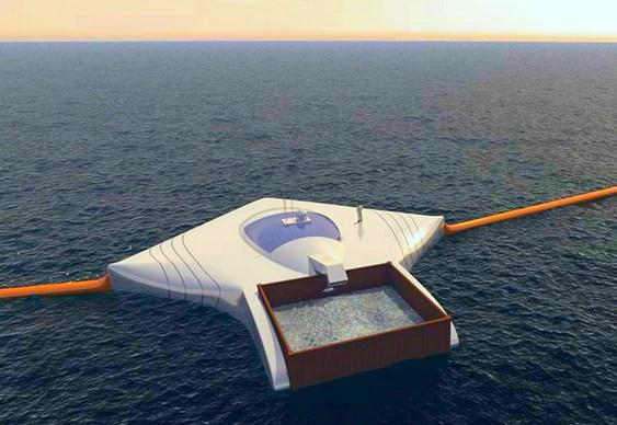 Limpeza de plásticos nos oceanos