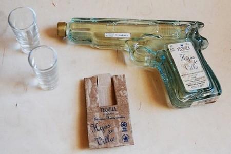 Design de garrafa de birita
