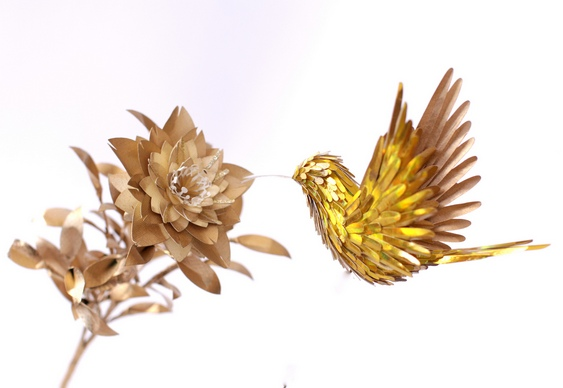 Passarinho dourado
