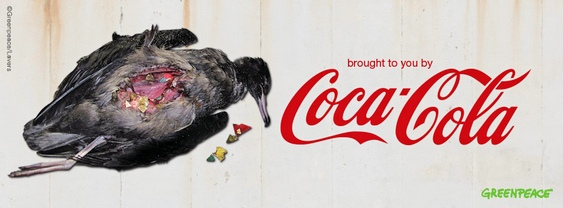 Lixo PET Coca-Cola