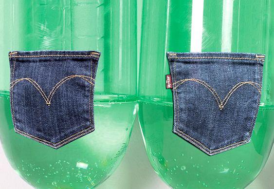 Jeans PET reciclado