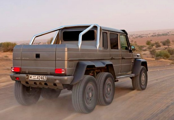 Jeep Mercedes G 63 AMG 6×6