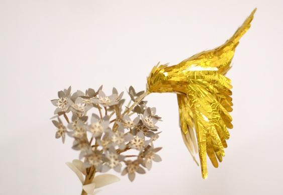 Escultura dourada