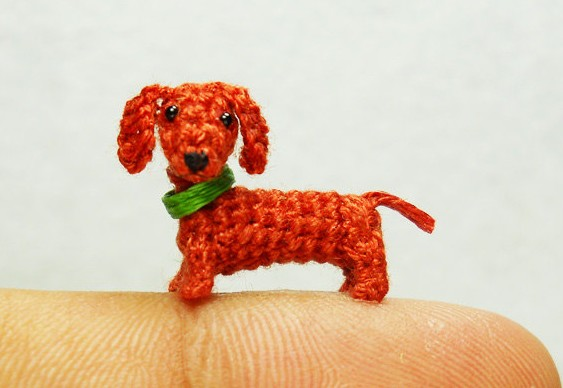 Cãozinho de crochê