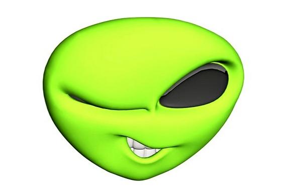 Alienígena piscando