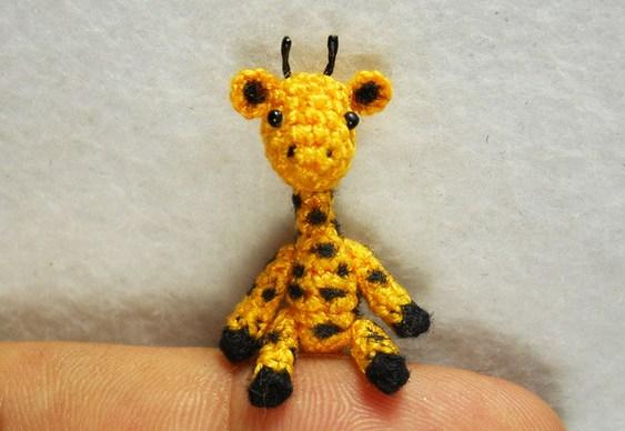 Girafinha de crochê