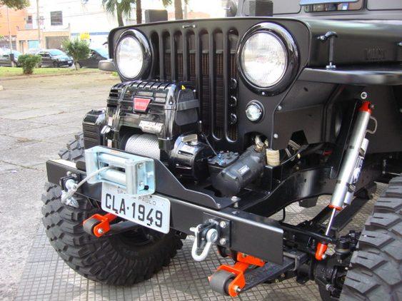 Jeep antigo reformado