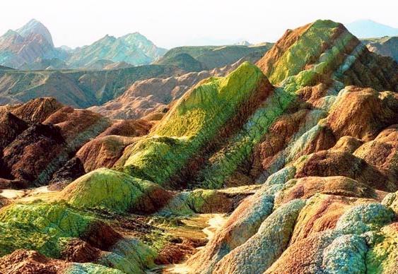 Zhangye Danxia China