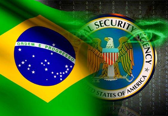 Espionagem americana no Brasil