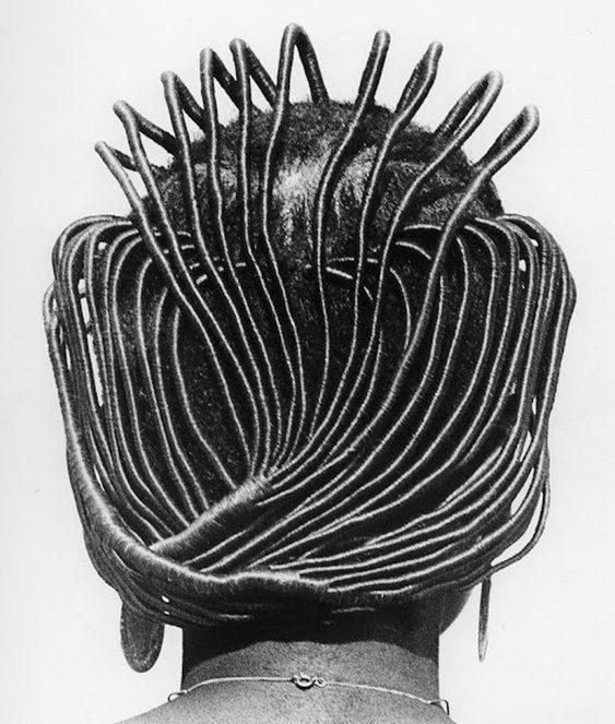 Cabelo de mulher negra