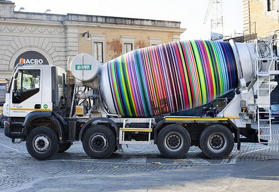 Graffiti caminhão