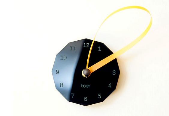 Relógio mostrador fita