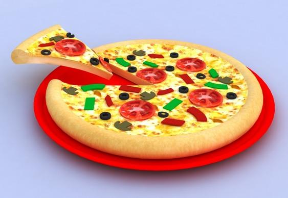 Letreiro 3D para Pizzaria