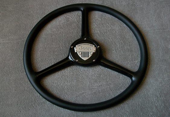 Reforma de volante jipe