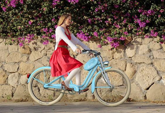 Bike com nécessaire
