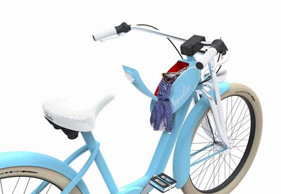 bicicleta com bagageiro