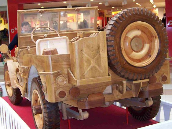 Jeep MB Wooden