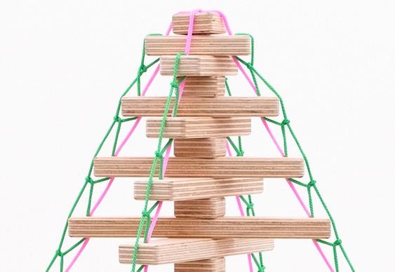 Ideia criativa para Árvore de Natal