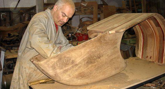 Carpinteiro português Carlos Alberto