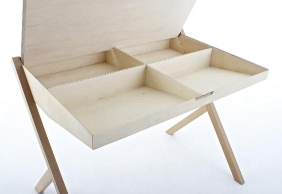 Escrivaninha de Madeira Design
