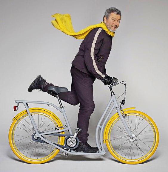 Meio bicicleta, meio patinete