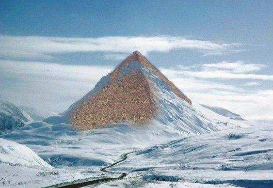 Pirâmides Fake