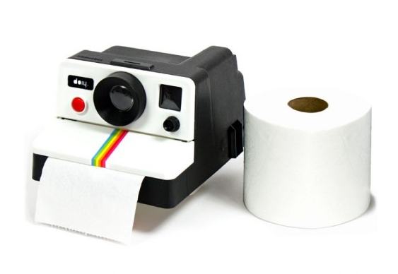 Imitação de máquina fotográfica Polaroid