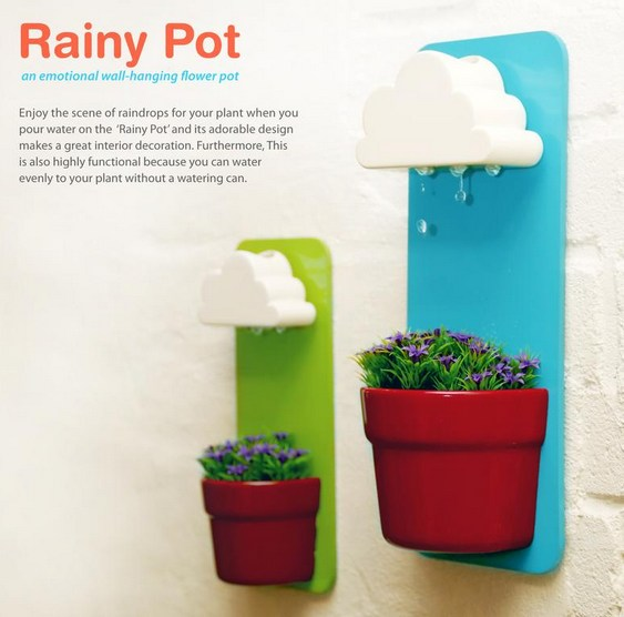 Rainy Pot Design