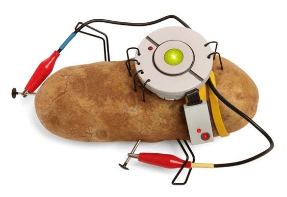 Luz de batatas