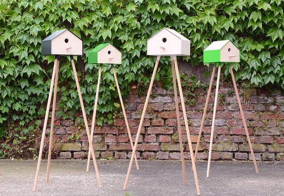 Protege o ninho e decora o quintal