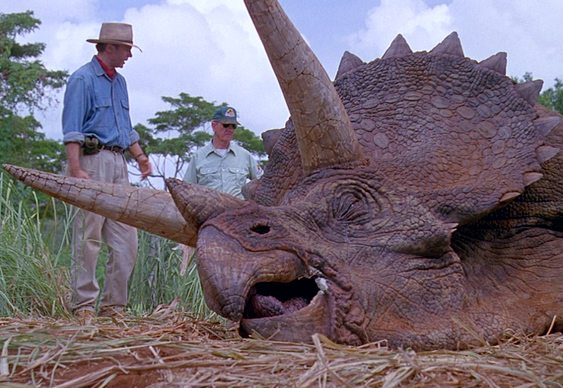 Cena de Jurassic Park