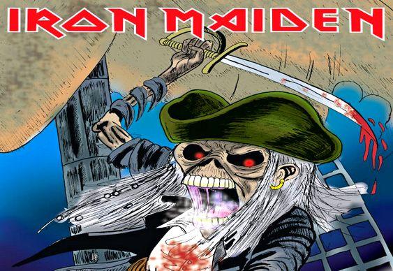 Iron Maiden ganha dinheiro com pirataria