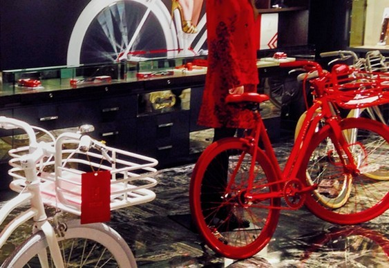 Bicicleta de marca