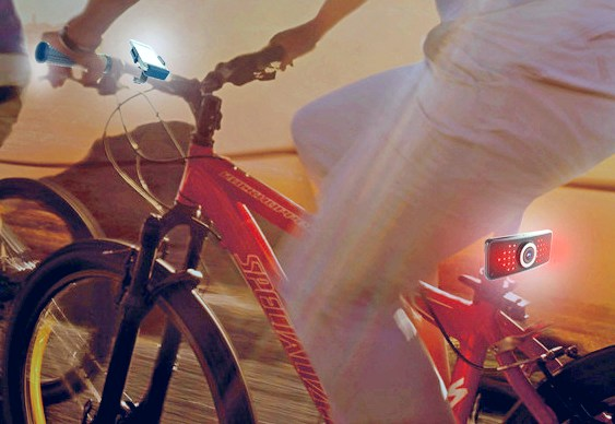 Terceiro olho para ciclistas