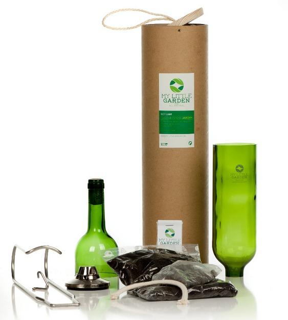 Reciclagem de vidro usado