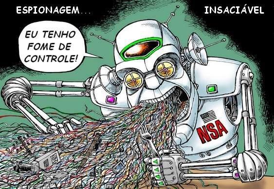 Charge NSA CIA & EUA