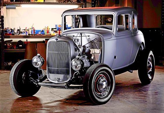 Nova carroceria de Ford Coupe 1932