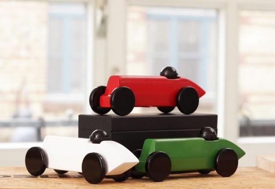 Réplica de carro de corrida