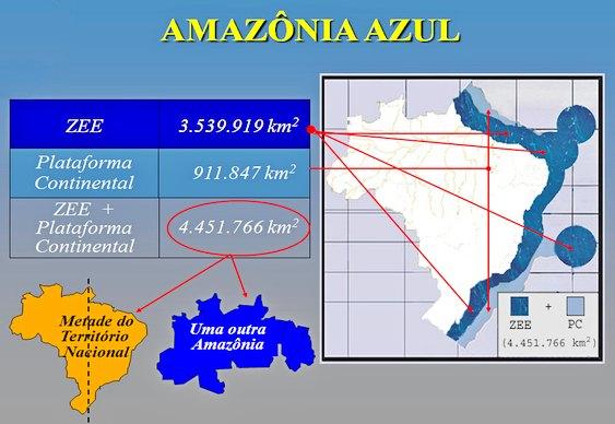 Mapa mostrando a área