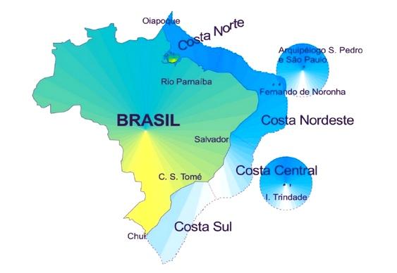 Área total da Amazônia Azul