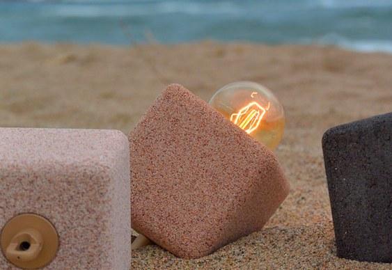 Luminária de Areia