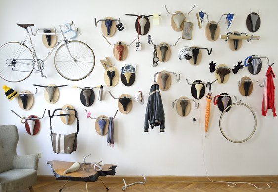 Rack de parede para bikes