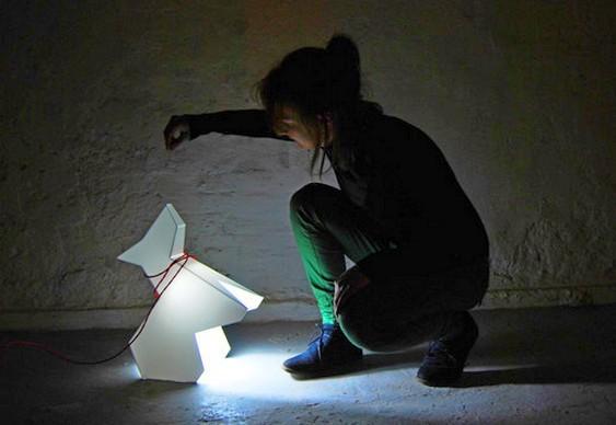 Luminária cãozinho