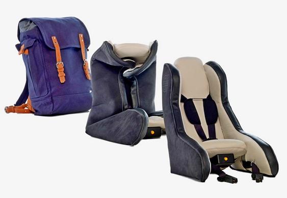 Assento infantil da Volvo