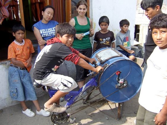 Crianças peruanas