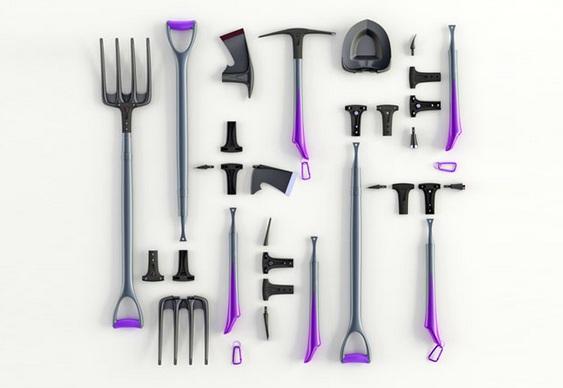 Kit de ferramentas para jardim