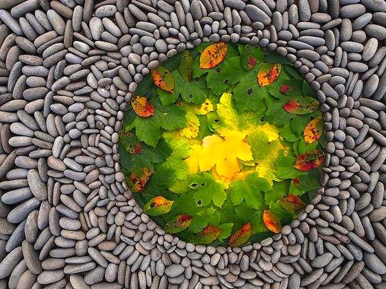 Mosaico de pedras