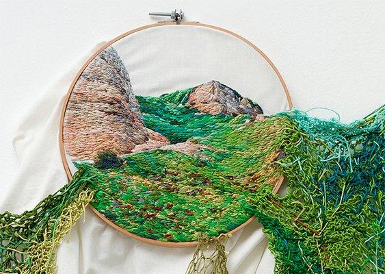 Arte com bordado